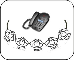 多人电话会议