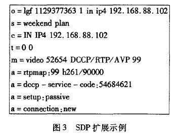 SDP扩展示例